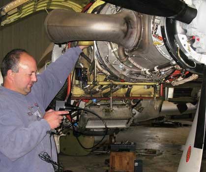 King Air - PT6 Inspection