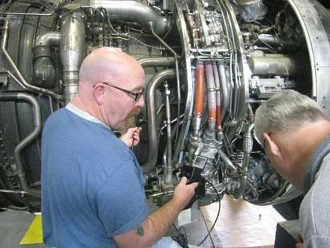 King Air- Boeing 747 - Pratt & Whitney JT9 Inspection with a VJ-Advance Video Borescope