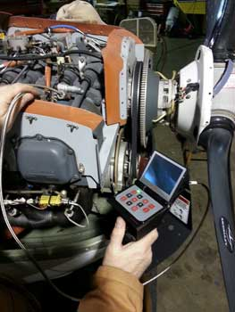 Aviation Recip Engine Inspection of a Lycoming 360 with a VJ-Advance Video Borescope